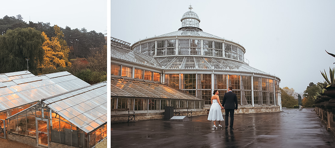 wedding in botanicle garden in copenhagen and new york